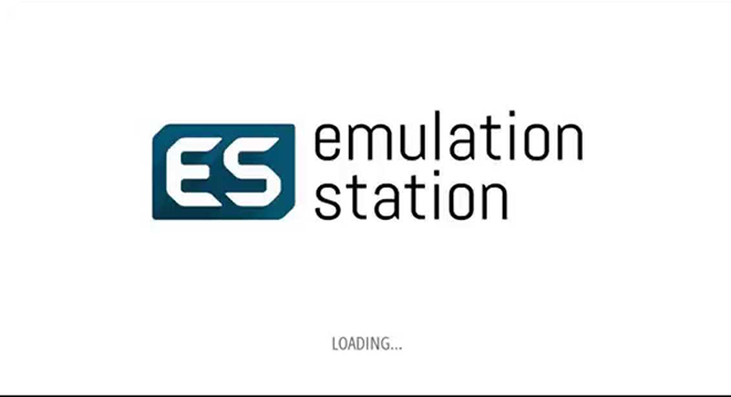 Emulation Station splash screen